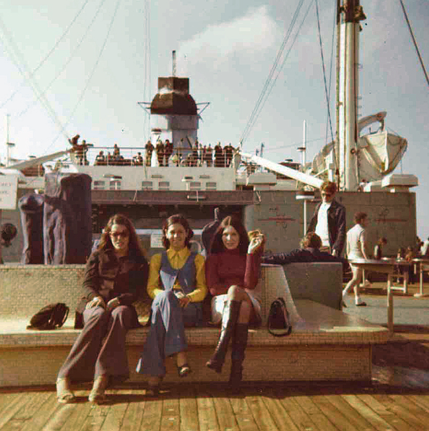 These pictures were taken on the S. S. Australis.
